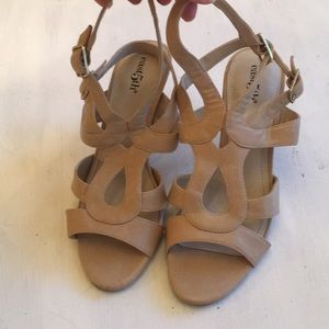 East Fifth nude sandals